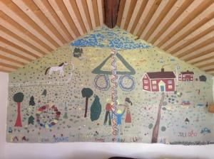 Sörängenbarnens väggmålning 1980